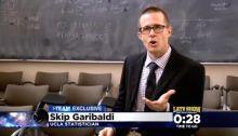 Skip Garibaldi on CBS Philly evening news