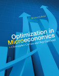 """Optimization in Microeconomics"" by Christopher Curran and Skip Garibaldi"