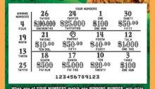 PA lottery ticket